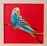 Sarah Graham's ... Budgie Rose i by C R U S H, Painting